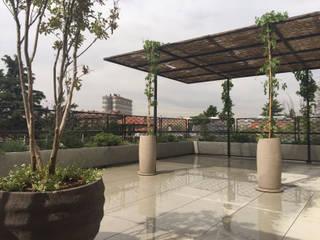 Terraza Jardines de estilo moderno de Irati Proyectos Moderno