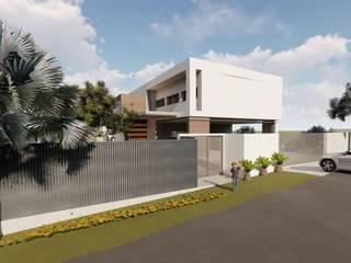 VILLA EUMA Casas de estilo moderno de Estudio arquedif Moderno