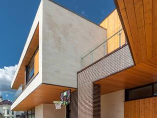 Особняк Данилова Дома в стиле минимализм от Роман Леонидов - Архитектурное бюро Минимализм