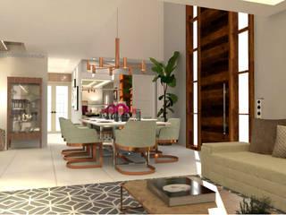 Joana Rezende Arquitetura e Arte Ruang Makan Klasik