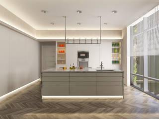 Dubai Villa Project / 2 Modern Mutfak DESIGNSONO Modern