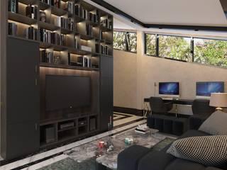 Dubai Villa Project / 3 Modern Çalışma Odası DESIGNSONO Modern