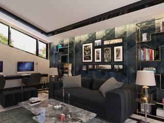 Dubai Villa Project / 3 Modern Oturma Odası DESIGNSONO Modern