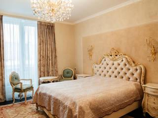 Квартира в Сокольниках Студия текстильного дизайна 'Времена года' Спальная комната Текстиль