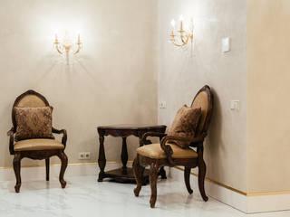 Квартира в Сокольниках Студия текстильного дизайна 'Времена года' Коридор, прихожая и лестница в классическом стиле