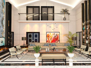 Dubai Villa Project / 1 Modern Oturma Odası DESIGNSONO Modern