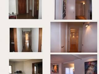 Arquide Estudio: PROYECTOS Pasillos, vestíbulos y escaleras de estilo moderno de Arquide Estudio, reforma y rehabilitación en Madrid Moderno