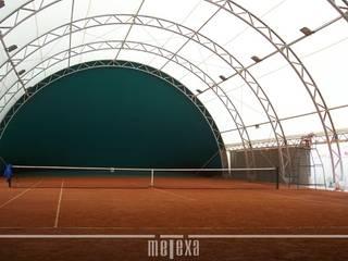 METEXA SAS 體育館 塑木複合材料