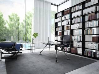 Villa Riyad Studio minimalista di Aeon Studio Minimalista