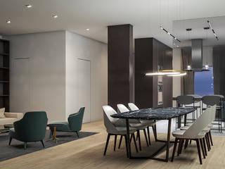 Salas de estilo minimalista de Aeon Studio Minimalista