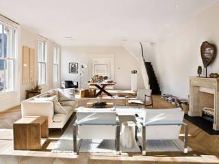 Apartment in Milan Soggiorno minimalista di Aeon Studio Minimalista