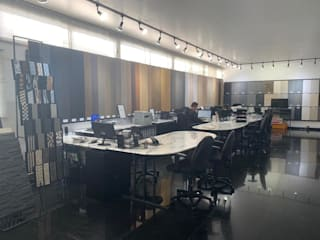 Showroom Coyoacán Estudios y despachos clásicos de Pisos Marmex Clásico