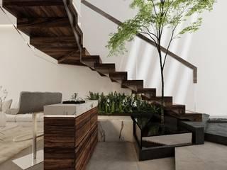 Increíble diseño de casa de lujo de Rebora Arquitectos Moderno