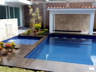 Moderne Pools von Albercas Cristalinas de Cuernavaca Modern