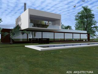 CASA OV - LA DEHESA Casas de estilo mediterráneo de AOG Mediterráneo