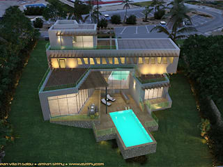Villa-Salou van A. Simhy - Design/Build Consultancy