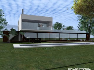 Single family home by AOG, Mediterranean