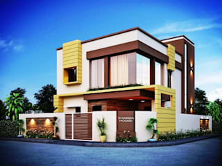Residential Bungalow by DISA Consultants