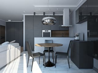 Industrial style kitchen by Елена Малахова студия авторского дизайна Industrial