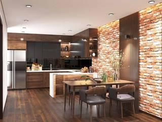 Thiết kế nội thất chung cư UDIC WesLake - Căn hộ B3, B8 Thiết Kế Nội Thất - ARTBOX