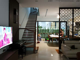 Thiết kế và thi công nội thất biệt thự Greenbay Mễ Trì bởi PGdecor Hiện đại