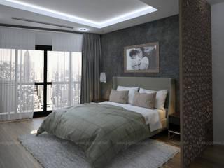 Thiết kế và thi công nội thất căn hộ R2 Royal City bởi PGdecor Hiện đại