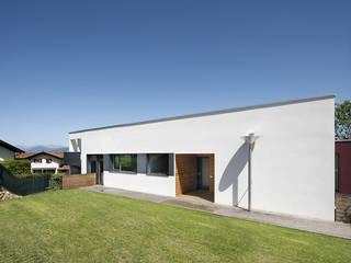 Villa in legno moderna a Varese Case moderne di Novello Case in Legno Moderno