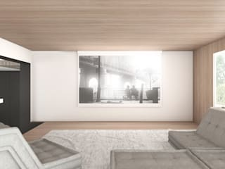 DFG Architetti Associati Modern Media Room