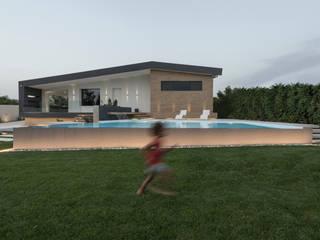 Villa LC Case moderne di DFG Architetti Associati Moderno