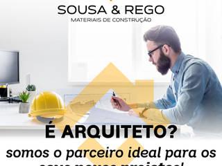 Somos o parceiro ideal para os seus novos projetos! por SOUSA & REGO - Materiais de Construção Moderno