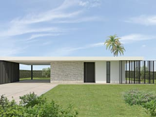 Villa R Case moderne di DFG Architetti Associati Moderno