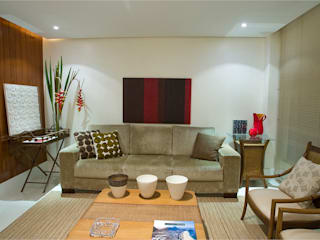 Living room by Viviane Cunha Arquitectura, Modern