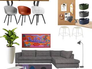 Ontwerp woonkamer Voorhout Moderne woonkamers van Huyze de Tulp interieurdesign Modern
