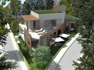 Houses by Viviane Cunha Arquitectura, Modern