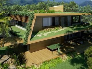Modern houses by Viviane Cunha Arquitectura Modern