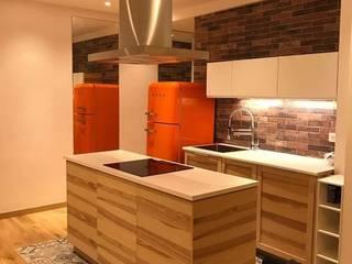 rénovation appartement Cuisine moderne par Sabrine Ayadi Moderne