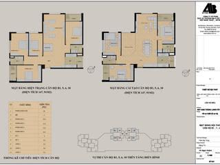 Thiết kế nội thất chung cư UDIC WesLake - Căn hộ B1,5,6,10 - Gỗ óc chó Thiết Kế Nội Thất - ARTBOX