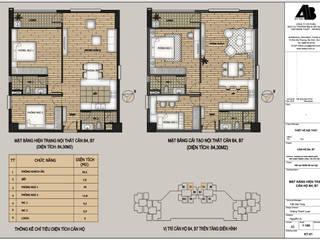 Thiết kế nội thất chung cư UDIC WesLake - Căn hộ B4,7 phong cách Scandinavi - KTS. Loan Nguyễn Thiết Kế Nội Thất - ARTBOX
