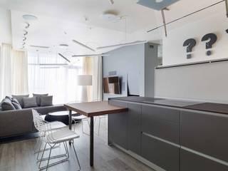 Minimalist living room by Архитектор Татьяна Стащук Minimalist