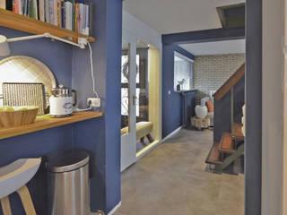 Interieuradvies woonkamer jaren '70 woning Voorhout van Huyze de Tulp interieurdesign