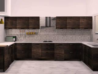 kitchen by tanushree Agarwal Designs Rustic