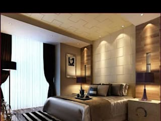 Darbar villa Eclectic style bedroom by Spaceplay Eclectic