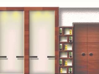 salon Minimalist offices & stores by tanushree Agarwal Designs Minimalist