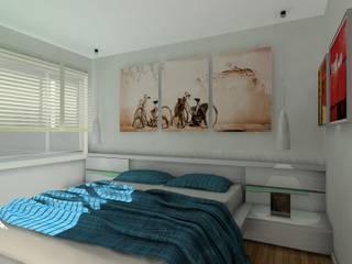 VIVIENDA EN BARAKALDO Dormitorios de estilo ecléctico de ABD Ecléctico