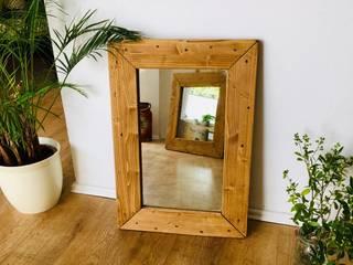 Spiegel aus Palettenholz von Beaver Design Rustikal