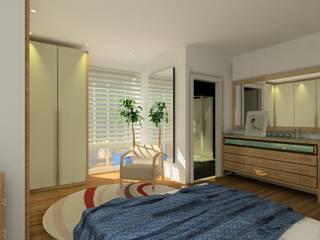 ZONA MINERA Dormitorios de estilo escandinavo de ABD Escandinavo