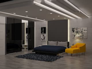 BEDROOM IDEAS Modern style bedroom by SDINCO Modern