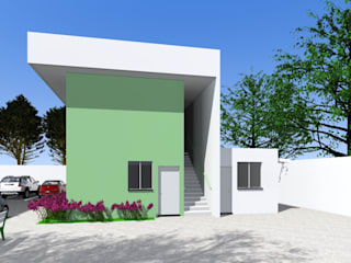 Projeto de uma sede administrativa no condomínio parque do imbui por ARQ-PB Arquitetura e Construção