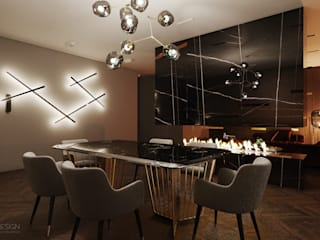Dining room by AKANT Design, Eclectic