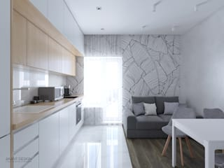 Built-in kitchens by AKANT Design, Minimalist